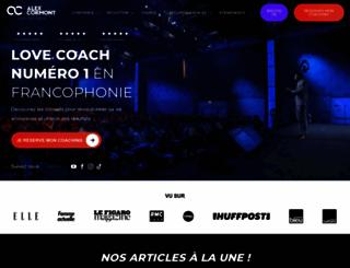 alexandrecormont.com screenshot