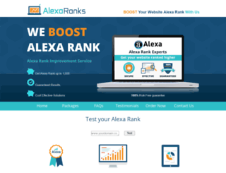 alexaranks.com screenshot