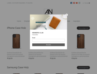 alexej-nagel.de screenshot
