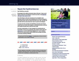 alexking.org screenshot