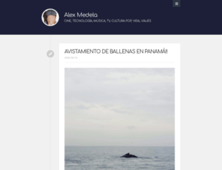 alexmedela.com screenshot