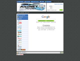 alexnetweb.com.br screenshot