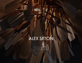 alexseton.com screenshot
