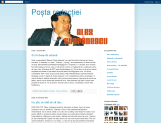 alexstefanescupostaredactiei.blogspot.com screenshot