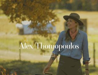 alextcooks.com screenshot