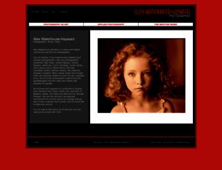 alexwaterhousehayward.com screenshot