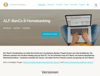 alf-banco.de screenshot