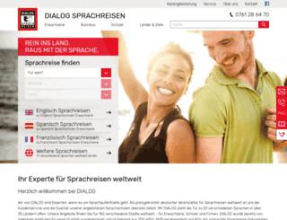 alfa-sprachreisen.de screenshot