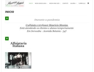 alfaiatariaitaliana.com.br screenshot