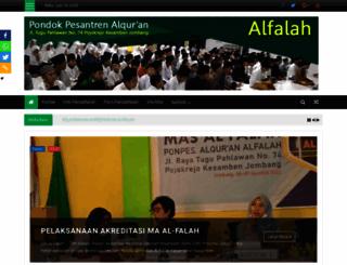 alfalah.or.id screenshot