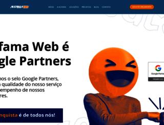alfamaweb.com.br screenshot