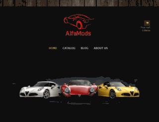 alfamods.com screenshot