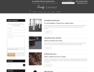 alfombramodular.com.mx screenshot