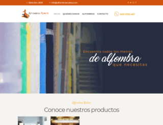 alfombrasrubios.com screenshot