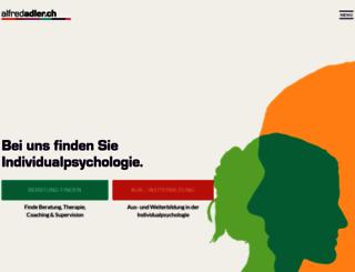 alfredadler.ch screenshot
