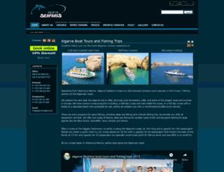 algarve-seafaris.com screenshot