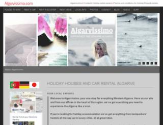 algarvissimo.com screenshot