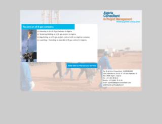 algeria-consultant.com screenshot