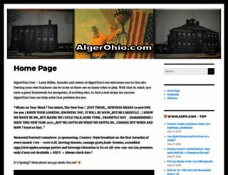 algerohio.com screenshot