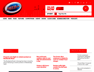 algoafm.co.za screenshot