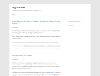 algohunters.com screenshot