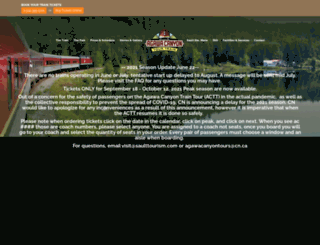 algomacentralrailway.com screenshot