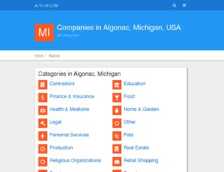algonac.alylox.com screenshot