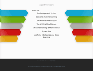 algorithmht.com screenshot