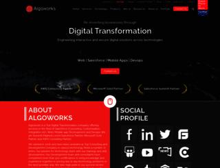 algoworks.com screenshot