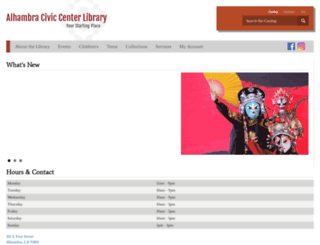 alhambralibrary.org screenshot