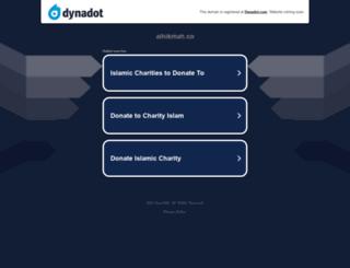alhikmah.co screenshot