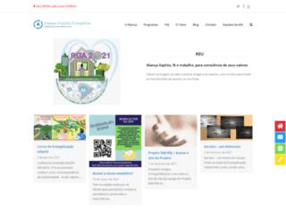 alianca.org.br screenshot