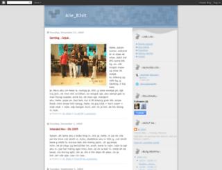 alib3sit.blogspot.com screenshot
