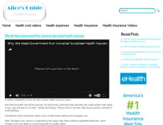 aliceguide.com screenshot