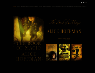 alicehoffman.com screenshot