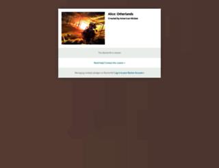 aliceotherlands.backerkit.com screenshot