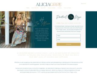 aliciacowan.com screenshot