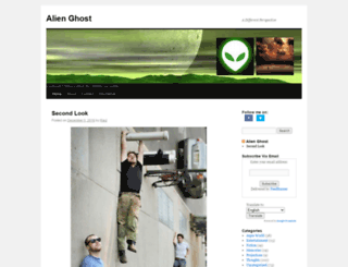 alienghost.com screenshot
