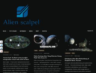 alienscalpel.com screenshot