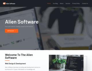 aliensoftware.co.uk screenshot