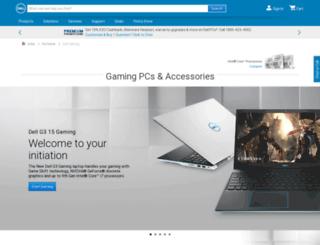 alienware.co.in screenshot