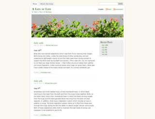 alifeoflife.wordpress.com screenshot