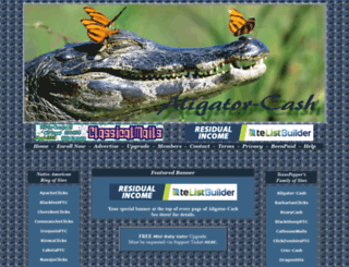 aligator-cash.com screenshot
