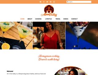aliinthevalley.com screenshot