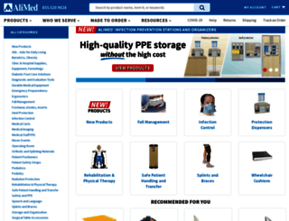 alimed.com screenshot