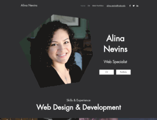 alinanevins.com screenshot