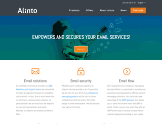 alinto.com screenshot