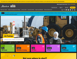 alis.alberta.ca screenshot
