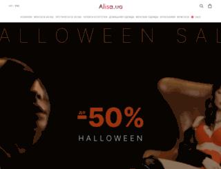 alisa.in.ua screenshot