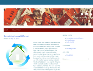 alisja.com screenshot